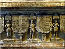 SK3616 : Church of St Helen, Ashby-de-la-Zouch – Hastings tomb – 6 by Alan Murray-Rust