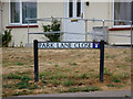 TL8528 : Park Lane Close sign by Adrian Cable
