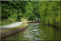 SJ2442 : Llangollen Canal near Sun Trevor Bridge by Stephen McKay