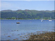 NS0274 : Yachts in the Kyles of Bute by Thomas Nugent