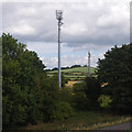 SD4663 : Mobile phone masts by Ian Taylor