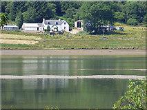 NS0079 : Loch Riddon mud flats by Thomas Nugent