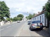 J0617 : Single storey cottages on Church Hill. Jonesborough by Eric Jones