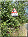 TQ7794 : Roadsign on Maltings Road by Adrian Cable