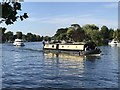 SU9973 : Boats on The River Thames in Old Windsor by Richard Humphrey