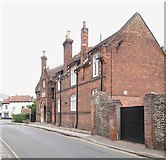 "TG0738 : Former ""Gresham's"" Building, Holt, Norfolk by David Hallam-Jones"