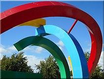 NS5964 : Glasgow 2014 Commonwealth Games emblem by Richard Sutcliffe