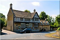 SO9537 : Former Post Office and Stores, Overbury by Philip Pankhurst
