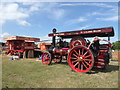 SX8955 : Torbay Steam Rally - threshing by Chris Allen