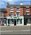 SK3516 : 31 Market Street, Ashby-de-la-Zouch by Alan Murray-Rust