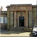 SK3516 : Former station building, Ashby-de-la-Zouch – main entrance by Alan Murray-Rust