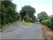 J0613 : The junction of the Low Road and Edenappa Road by Eric Jones