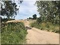 SK1426 : Farm track at Eland Lodge by Jonathan Hutchins