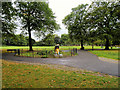 SJ8795 : Crowcroft Park, Longsight by David Dixon