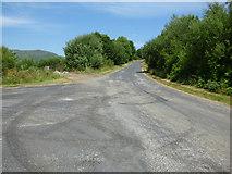 NR9984 : Road junction in Glendaruel by Thomas Nugent