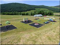 NR9984 : Clachan of Glendaruel recreation ground by Thomas Nugent