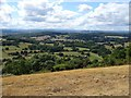 SO7536 : View over Herefordshire from the Malvern Hills by Philip Halling