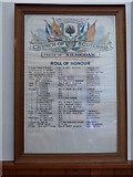 NR9984 : Kilmodan Church Parish WWI Roll of Honour by Thomas Nugent