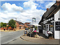 SP1143 : Outside the Thatched Tavern by Des Blenkinsopp