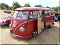 TF1207 : 1962 Volkswagen camper van at the Maxey Classic Car Show, August 2018 by Paul Bryan