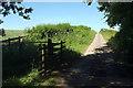 SE3074 : Cattle grid, Park Lane by Derek Harper