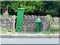 SK3524 : Water fountain and pump,Main Road, Ticknall by Alan Murray-Rust