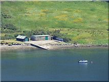 NS0582 : Boathouse on Loch Striven by Thomas Nugent