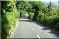 SX9371 : A379 Teignmouth Road approaching Shaldon by David Dixon