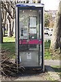 SJ3093 : Telephone box, Mount Road, Wallasey by Graham Robson