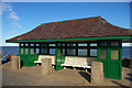 TM2521 : Seafront shelter, Walton-on-the-Naze by Christopher Hilton