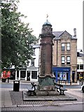 NY9364 : Pant, Market Place, Hexham by G Laird