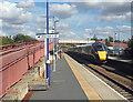 SP1144 : On Honeybourne Station by Des Blenkinsopp