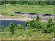 NS0883 : Loch Tarsan east dam by Thomas Nugent