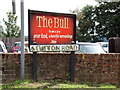 TM1234 : The Bull & Stutton Road signs by Adrian Cable