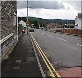 ST1888 : South along Navigation Street, Trethomas by Jaggery
