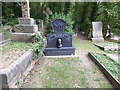 TQ2886 : The grave of Malcolm McLaren in Highgate Cemetery by Marathon
