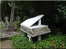 TQ2886 : The grave of Harry Thornton in Highgate Cemetery by Marathon