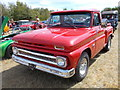 TF1207 : 1964 Chevrolet C10 pick-up truck at the Maxey Classic Car Show, August 2018 by Paul Bryan