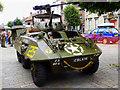 SU0682 : Military vehicle, High Street, Royal Wootton Bassett by Brian Robert Marshall