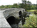 SH9836 : Pont Fawr, bridge over the River Dee, Llandderfel by John Lord