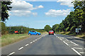 TG2824 : B1150 towards North Walsham by Robin Webster