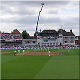 SK5838 : Trent Bridge: the first ball of the 2018 Test Match by John Sutton
