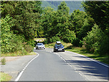 NS1481 : The B836 road by Thomas Nugent