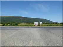 NS1482 : Road junction at Dalinlongart by Thomas Nugent