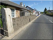 NS1680 : The A815 road at Sandbank by Thomas Nugent