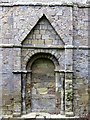 NU2406 : Blocked doorway, St Lawrence Church, Warkworth by Andrew Curtis