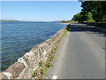 NS1779 : The A815 Shore Road by Thomas Nugent