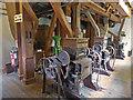 SZ4186 : Calbourne Water Mill - roller mill by Chris Allen