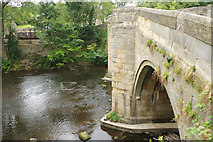 SK2572 : Baslow Old Bridge by Stephen McKay