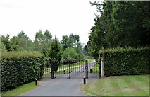SU9021 : The entrance to Cowdray House, Easebourne by David Howard